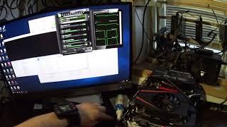 Тест в майнинге GTX 1060 3gb Asus и MSI однокулерные
