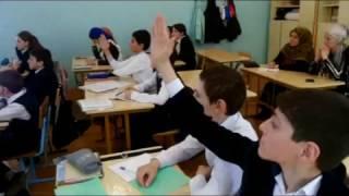 Урок родного языка в Дубкинской СОШ.