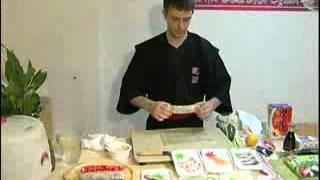 Как готовить суши на русском языке)