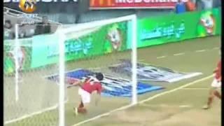 اهداف المباراة الملغية -- غزل المحلة 2 الاهلي 2