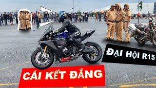 CSGT và Đại hội R15 Sài Gòn - BIG OFFLINE | Hậu Hậu Ninja 400 |