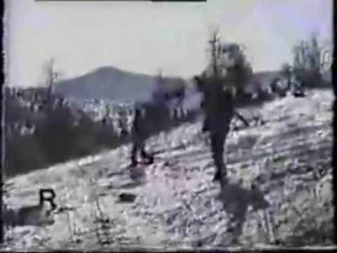 Армянские бойцы сбивают азерский самолет