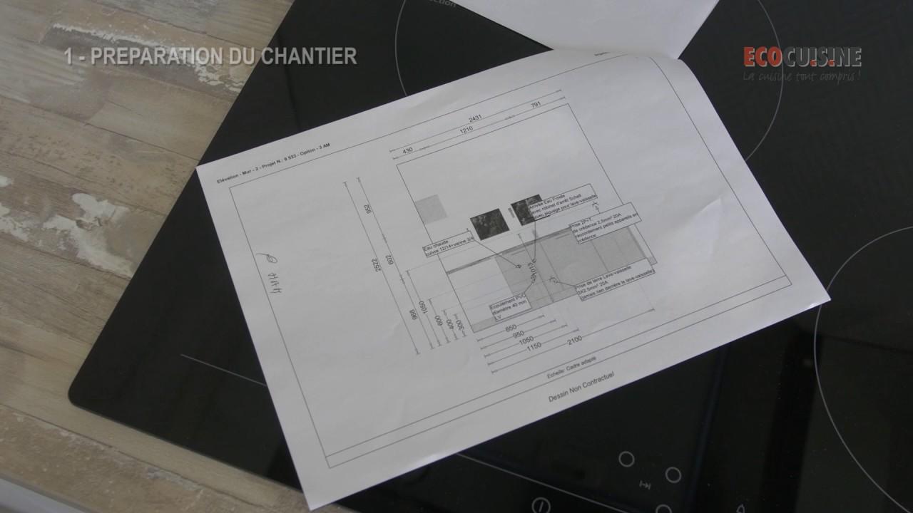 monter sa cuisine soi m me 1 la pr paration du chantier. Black Bedroom Furniture Sets. Home Design Ideas