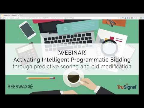 Activating Intelligent Programmatic Bidding
