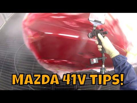 How to spray 41V