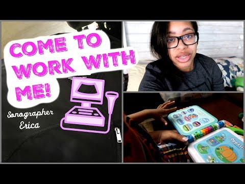 Come To Work With Me! | Night Shift Weekends (Ultrasound Tech)