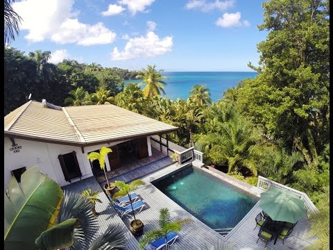 St. Lucia's Barefoot Beach Villa | Access to 2 Beaches