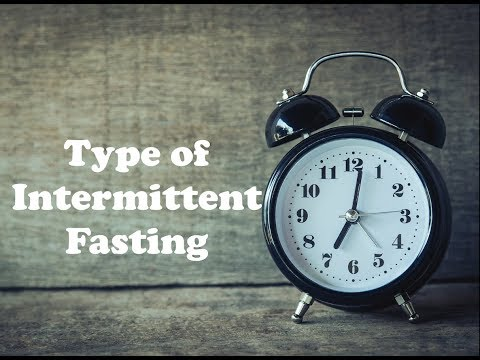Types of Intermittent Fasting for Weight loss, Health and Well-being