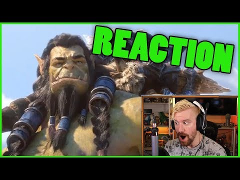 SAFE HAVEN Cinematic Reaction   Thrall's BACK Cinematic Reaction World Of Warcraft BfA
