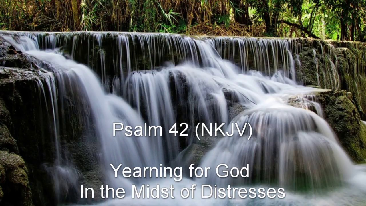 Psalm 42 (NKJV) - Yearning for God in the Midst of Distresses - YouTube