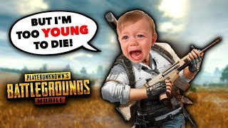 10 Ways NOOBS Die in PUBG Mobile!! thumbnail