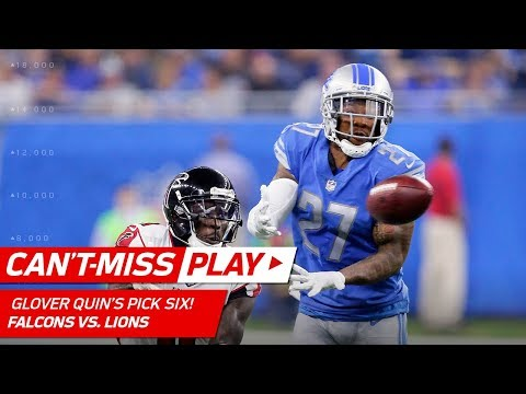 Glover Quin's Huge Pick Six off Matt Ryan! | Can't-Miss Play | NFL Wk 3 Highlights