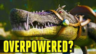 kaprosuchus game breaking how to tame everything you need to know ark survival evolved update 248