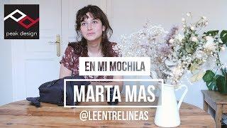 En mi mochila: Marta Mas (@leentrelineas)