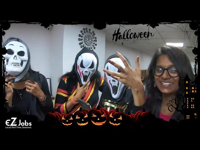Halloween Celebration at #EZJobs Office