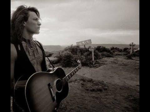 """Jon Bon Jovi - """" Blaze Of Glory """" 1990 (Acoustic Rare Version)"""