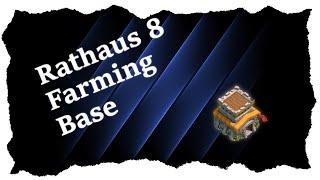CLASH OF CLANS | BESTE Rathaus lvl 8 Farming/Hybrid Base 2016 | Speed Build
