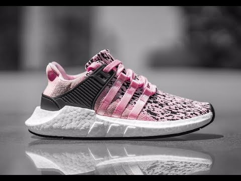 pretty nice ac1f9 1ce61 EQT 9317 PINK GLITCH REVIEWUNBOXING