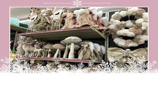 Christmas Decor Shopping At The At Home Store!