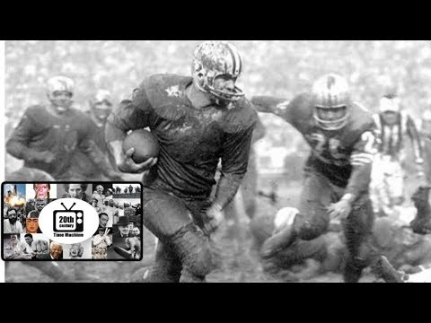 Paul Hornung Leads the Packers Through Mud and Rain over the 49ers (December 1960-Silent)