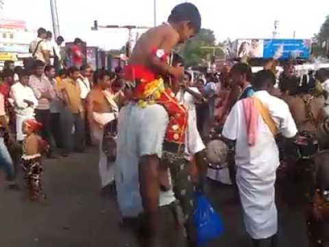 Madurai meenakshi amman festival dance