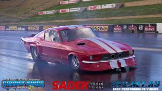 LUPPINO RACING DANDY ENGINES TWIN TURBO MUSTANG 6.33 @ 223 MPH