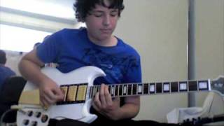 dez moines the devil wears prada guitar cover