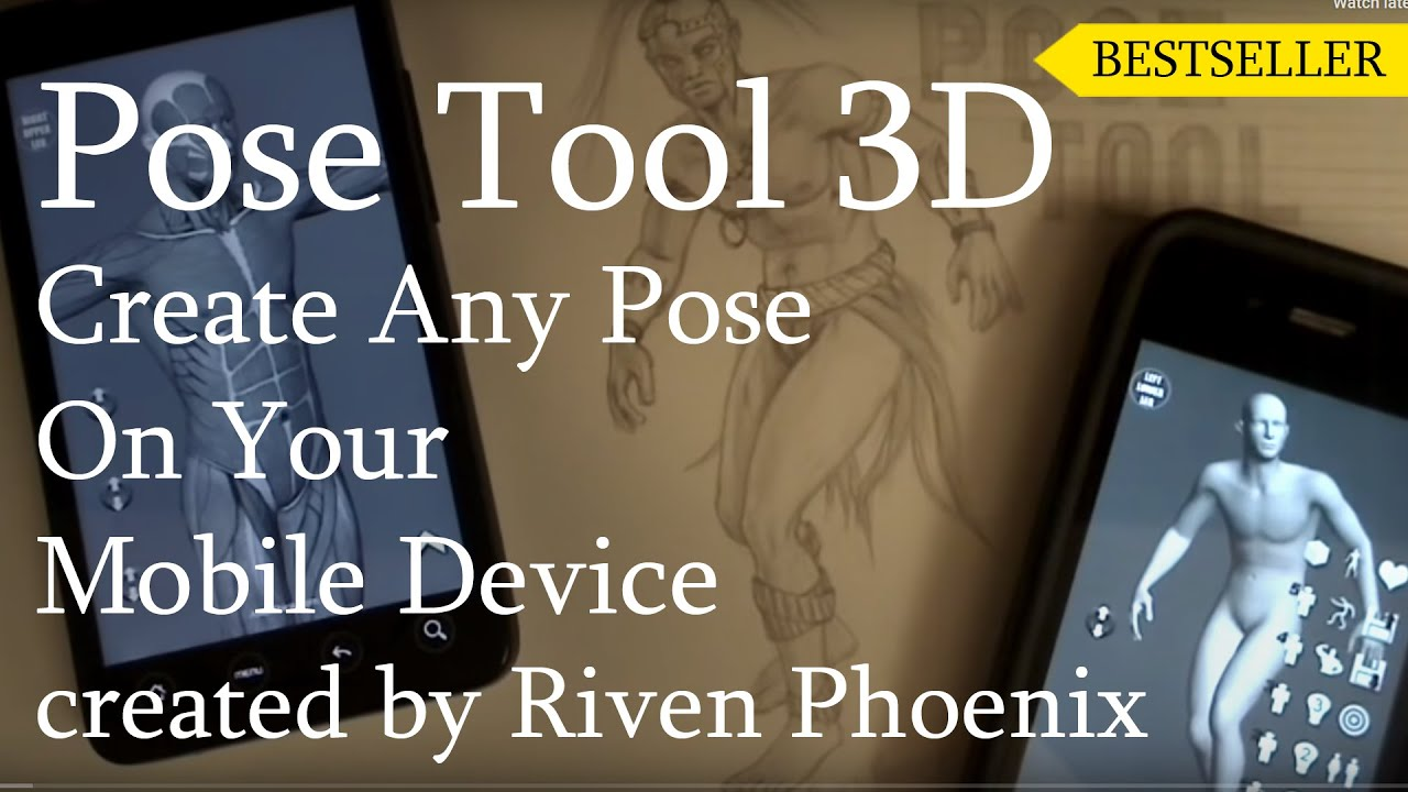 Pose Tool 3d For Iphone Android Kindle Youtube