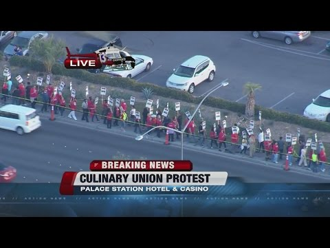 Culinary Union protest