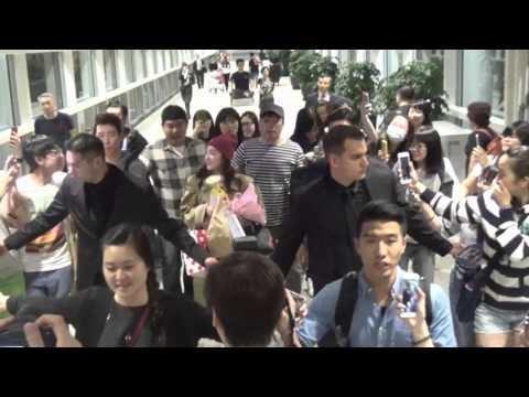 2NE1(투애니원) - Dara(다라) Arrived Hong Kong Airport 20160427