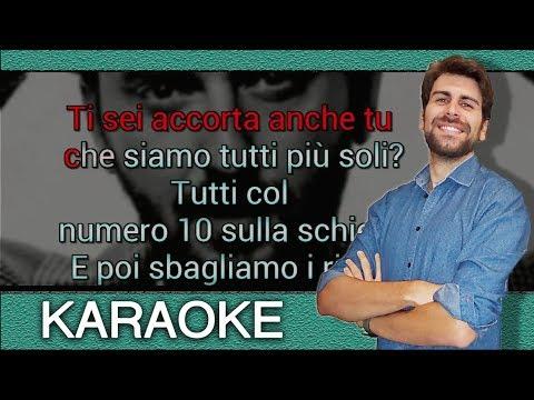 Cesare Cremonini - Nessuno vuole essere robin (Base KARAOKE strumentale)