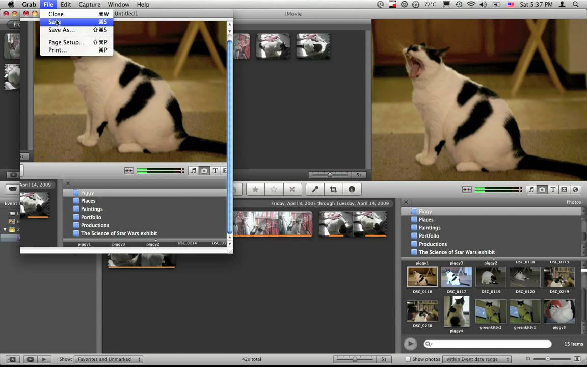 Imovie Troubelshooting And How To Get A Screenshot In Mac Osx