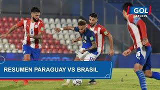 Paraguay vs Brasil (0 - 2): resumen del partido – Eliminatorias Sudamericanas