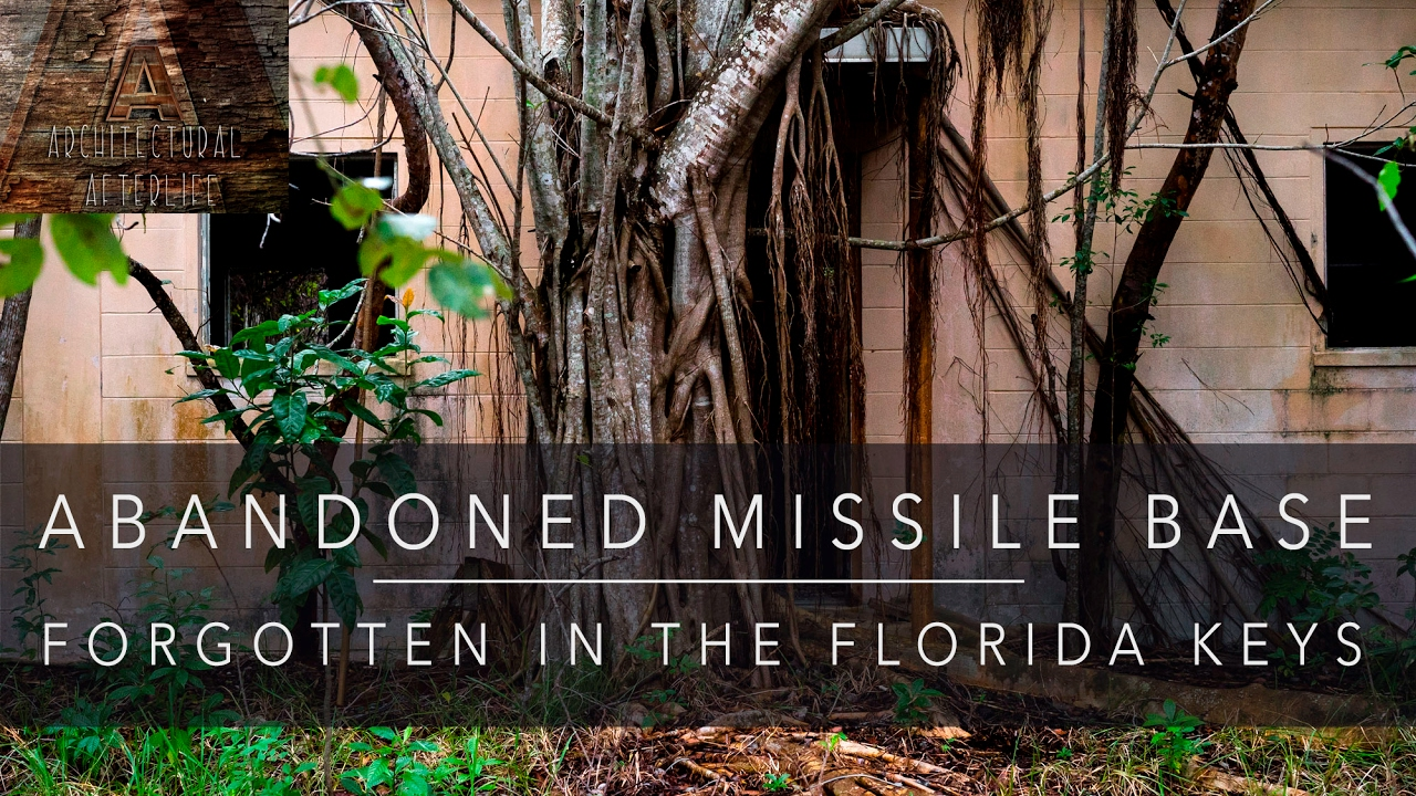 Decommissioned Missile Base Properties For Sale Abandoned Missile Base Forgotten In The Florida Keys Youtube