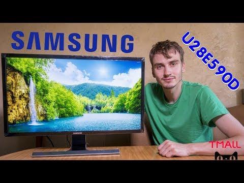 Распаковка и полный обзор монитора Samsung U28E590D