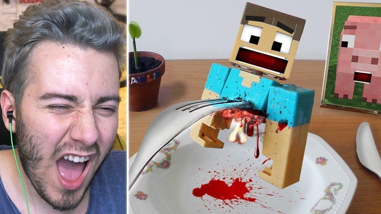 Ogle Yemeginde Minecraft Yiyen Adam Youtube