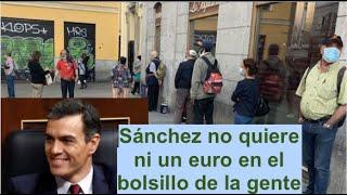 ¡SÁNCHEZ SE DISPONE A VACIAR NUESTROS BOLSILLOS!