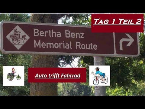 Bertha Benz Memorial Route Tag 1 Teil 2