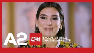 Prishtina apo Londra Dua Lipa rrefehet ne CNN