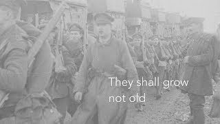 The Great War Symphony - The Last Post (They Shall Grow Not Old)