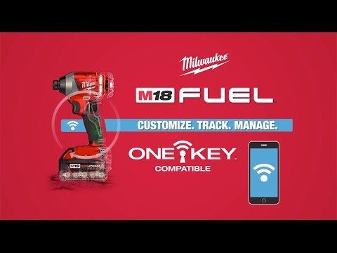 Milwaukee® ONE KEY™ Tool Customization Tracking and Inventory Management