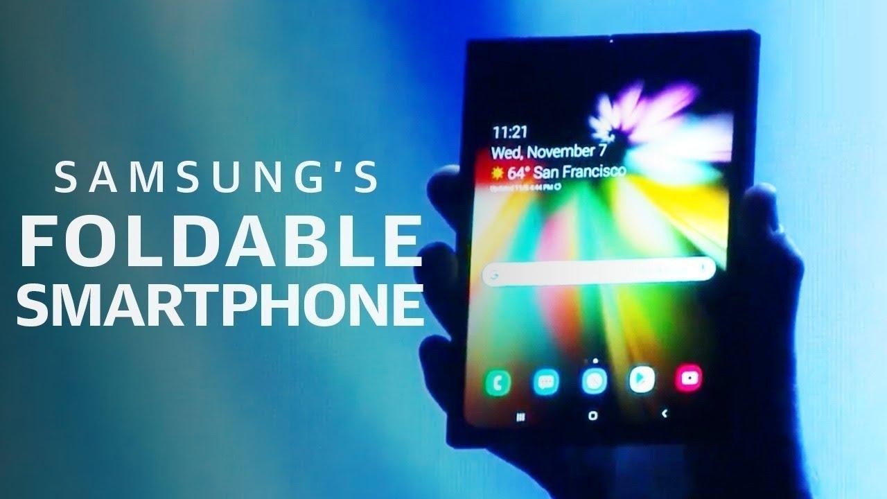 Samsung Developer Conference Flexible Foldable Phone & Samsung One UI 2019