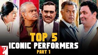 Top 5 Iconic Performers Part 1, Amrish Puri, Kirron Kher, Sanjay Mishra, Girish Karnad, Rishi Kapoor