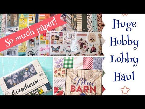 ☆ Huge Hobby Lobby Haul ☆