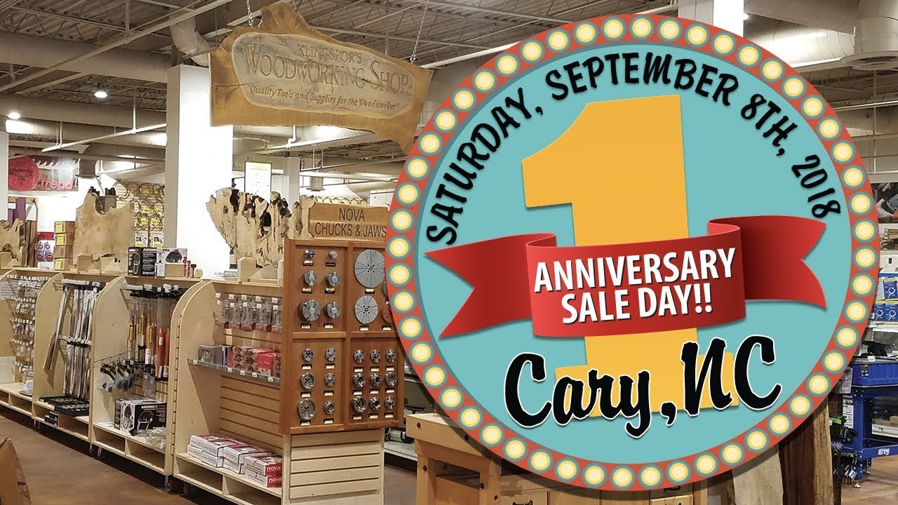 Cary Anniversary Sale Demos