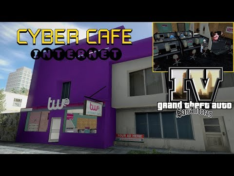 GTA IV NOVA CYBER CAFE INTERNET PARA SA By Michelle Works Vídeo In 4K