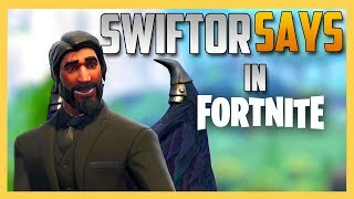 Swiftor Says in Fortnite - THE FIRST ONE