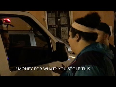 christine almost got arrested in puerto rico