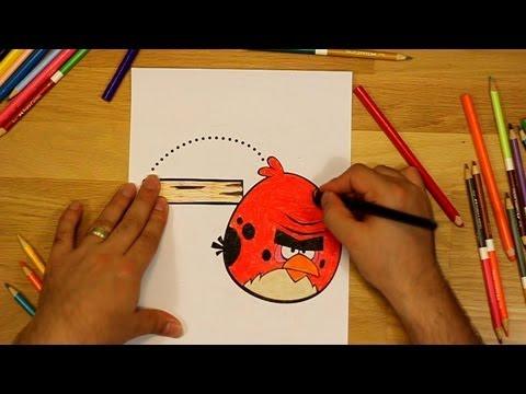 Angry Birds Coloring Jumping Big Brother Bird