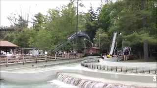 Knoebels 2015 log flume break down